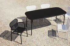Lacquered Aluminum Furniture Collections