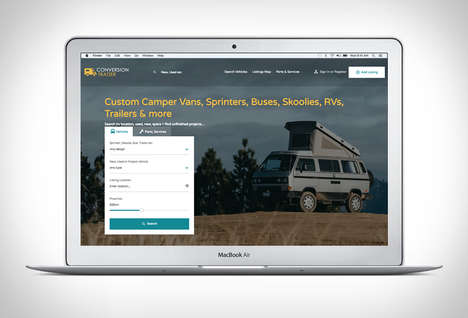 Custom Camper Van Marketplaces - 'Conversion Trader' Supports the Van Life Movement