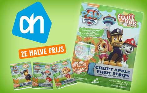 All-Natural Fun Fruit Snacks - Fruitfunk is Using Popular Franchises to Entice Kids to Health Snacks