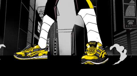 Anime-Inspired Sneaker Series