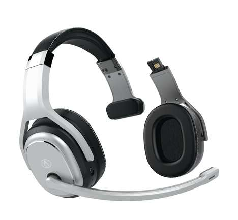 Adaptable Two-in-One Headphones - The ClearDryve 200 Headphones Work for Music and as a Headset