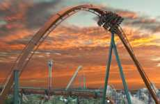Mountainous Record-Breaking Roller Coasters - Canada's Wonderland Will Soon Host the Yukon Striker