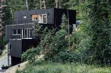 Dark Stacked Modern Abodes