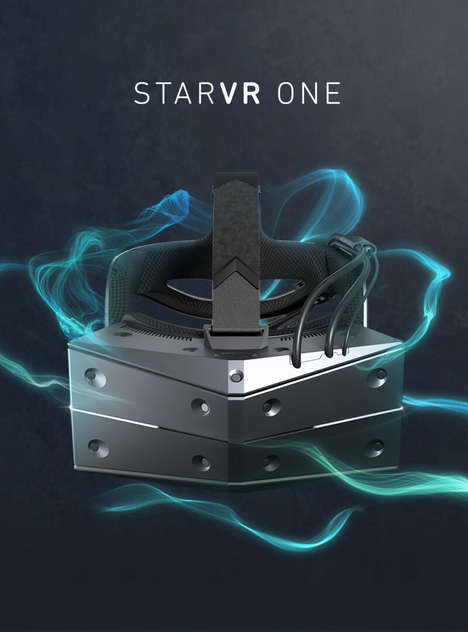 Immersive Eye-Tracking VR Headsets - The StarVR One VR Headset is Integrated with AMOLED Displays