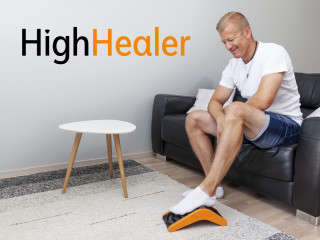Foot-Training Therapy Solutions - The 'HighHealer' Alleviates Pain Through a Series of Exercises