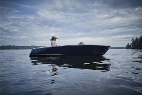 Ultra-Luxurious Pedal Boats - The Runabout by Beau Lake is Amazingly Comfortable & Incredibly Modern