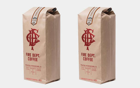 Libation-Infused Coffee Blends - The Fire Dept. Coffee Irish Whiskey-Infused Coffee is Full-Flavored