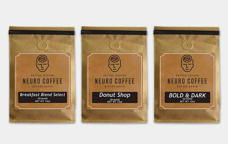 Brain-Supporting Coffee Blends - Neuro Coffee Features Antioxidants from the Coffee Fruit in the Mix