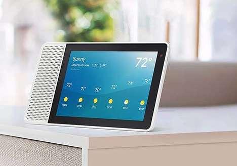 Intelligent Voice Assistant Displays