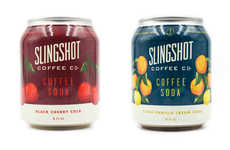 Fruity Cold Brew Sodas - The Slingshot Coffee Sodas Feature Recipes with Real Fruit Juice