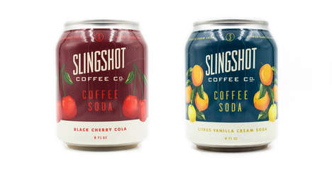 Fruity Cold Brew Sodas