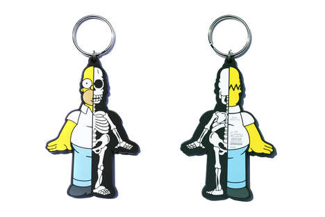 Cult Cartoon-Inspired Keychains