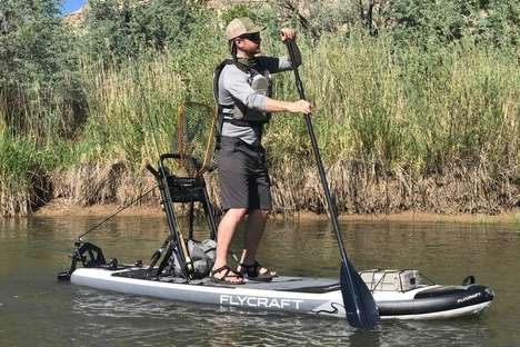 Balanced Inflatable Fishing Boards
