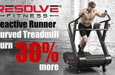 Curved HIIT Treadmills