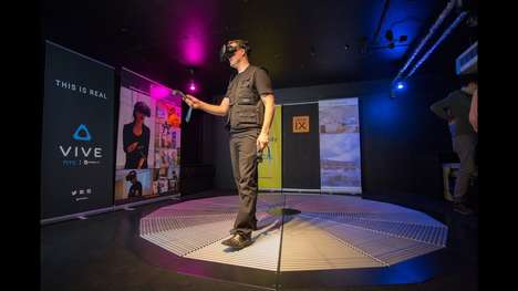 360-Degree VR Walking Platforms
