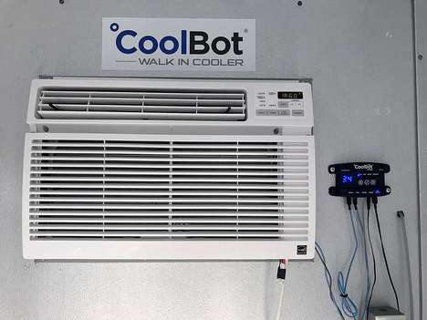 DIY Room Refrigeration Systems - The CoolBot Pro Turns Any Space into a Walk-in Cooler