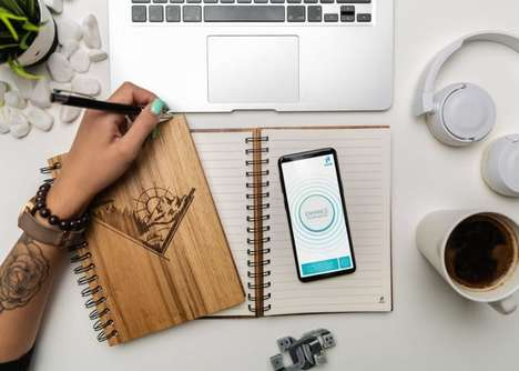 NFC-Enabled Notebooks - The 'WOOK notes' Notebook Keeps Users Productive and Goal-Oriented