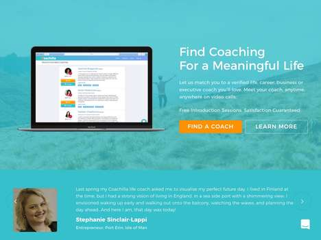 Life Coach-Finding Platforms - 'Coachilla' Connects Consumers to Professional Life Coaches Anywhere