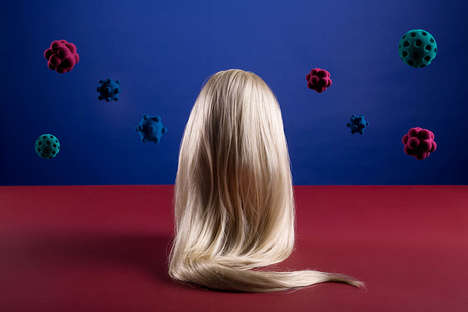 Surreal Hair-Inspired Photography