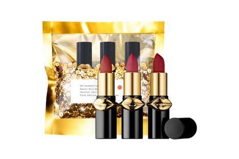 Miniature Rose Lipstick Trios