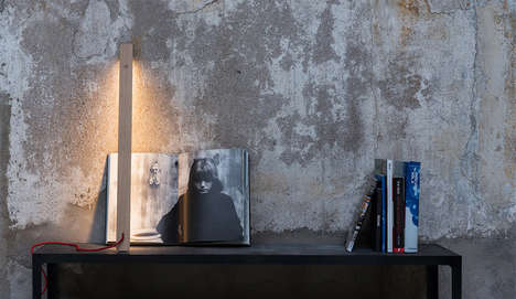 Design Studio-Owned Furniture Collections - NIRU Slow Creations' First Line Boasts a Minimalist Lamp