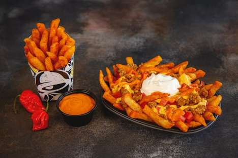 Seasoned Fiery Pepper Fries