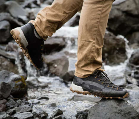 Kevlar-Infused Hiking Shoes - The Naglev Unico Kevlar Hiker is Lightweight, Protective and Comfy