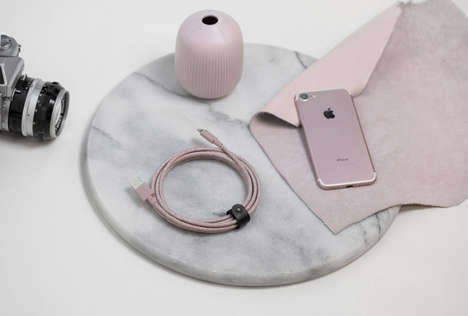 Rose-Colored Lightning Cables - Native Union's Durable Lighting Cable Have an Adorable Aesthetic