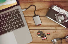Digital Photographer Laptop Dongles