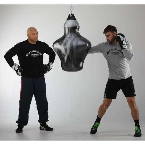Gamified Training Punching Bags : interactive punching bag