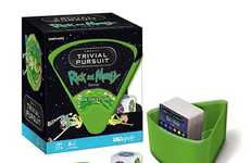 Absurdist Sci-Fi Board Games - Rick and Morty Trivial Pursuit is Packed with 600 Questions