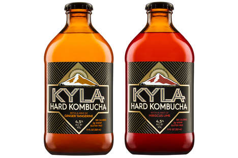 Hard Kombucha Beverages