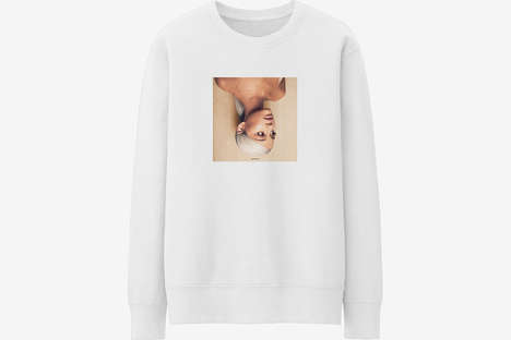 Album-Accompanying Streetwear Collections - Ariana Grande's Fashion Line is a Smart Marketing Move
