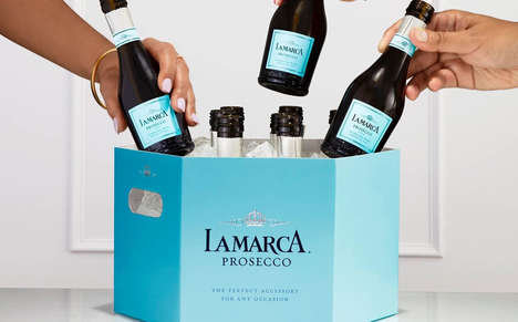 Single-Serve Prosecco Cases