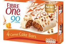 Low-Calorie Carrot Cake Bars