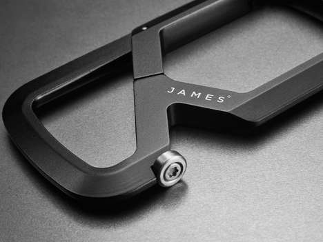 The Mehlville Carabiner is Built from a Solid Block of Aluminum