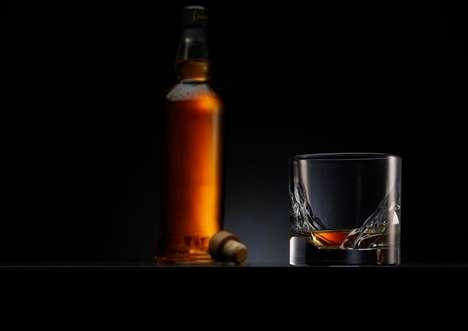 Fjord-Inspired Whisky Glasses