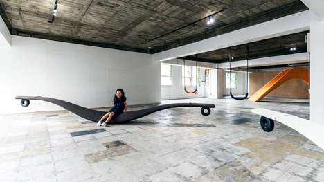 Playground-Style Visual Art Exhibitions