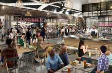 Youthful O2O Food Halls - VICE's MUNCHIES Food Hall Offers a First-of-Its-Kind Offline Experience