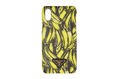 Luxe Banana Print Phone Cases