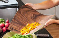 Malleable Naturalistic Cutting Boards