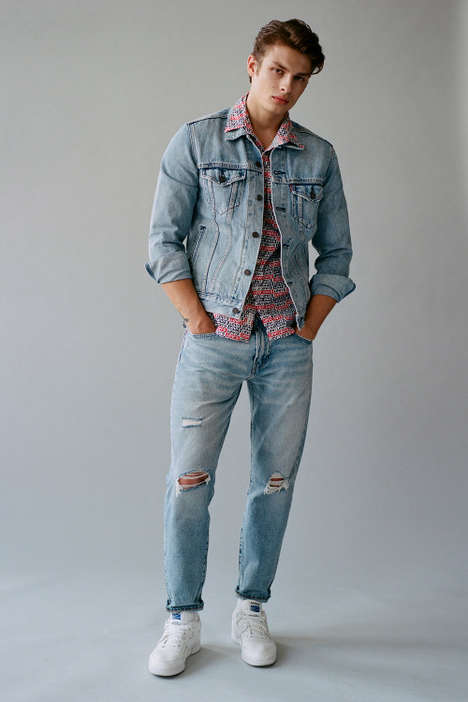 Ultra-Contemporary Denim Fashion Collections