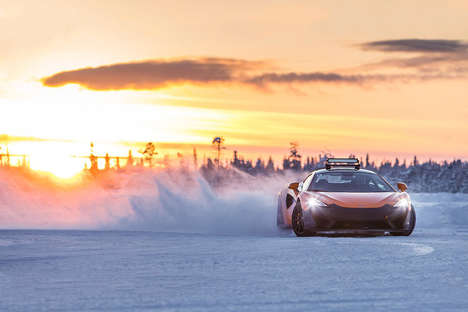 Arctic Supercar Experiences - The Pure McLaren Arctic Experience Boasts Adventure and Luxury
