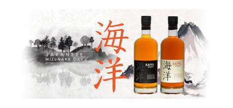 Ocean-Matured Japanese Spirits