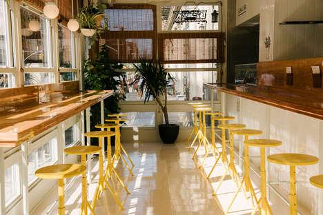 Bright Nautical Restaurant Decors