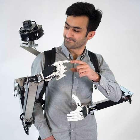 Wearable Back-Mounted Robots