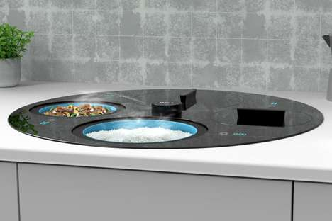 In-Counter Cooking Systems