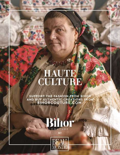 Authentic Cultural Fashion Campaigns - Bihor Couture is a Brand That Celebrates Romanian Fashion