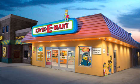 Iconic Cartoon Convenience Stores