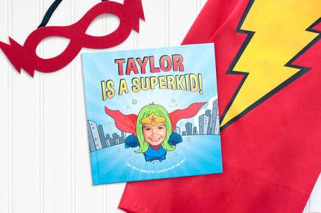 Personalized Superhero Storybooks